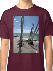 Stumps at Stump Pass Florida, USA Classic T-Shirt