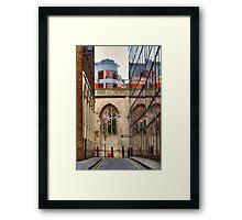 St Dunstan's Hill - London Framed Print