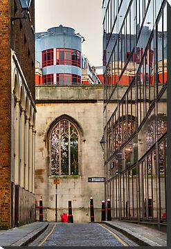 St Dunstan's Hill - London by Bryan Freeman
