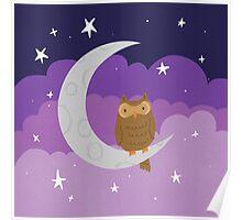 Joyful Moonlight Poster