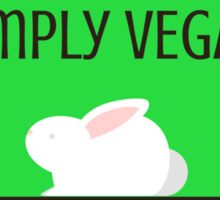 Simply Vegan Sticker