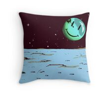 Party on Mars Throw Pillow