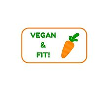 Vegan & Fit! by IdeasForArtists