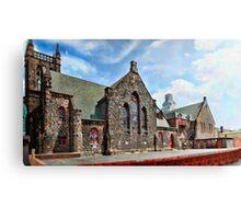 Gothic Church Panorama Canvas Print