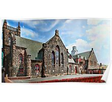 Gothic Church Panorama Poster