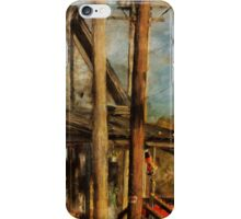 Train's Coming - Berryville Farm Supply iPhone Case/Skin