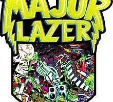 major lazer. by Robby Dougherty