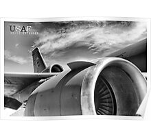 US Air Force KC-10 Extender Aircraft Poster