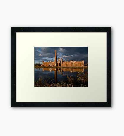 Sibley Manufacturing Company Framed Print