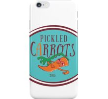 Pickled Carrots, Man. iPhone Case/Skin