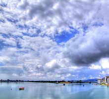 Moody Sky - Shoreham By Sea - West Sussex - HDR by Colin J Williams Photography