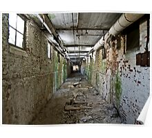 Patient/Utility Tunnels, Norwich State hospital Poster