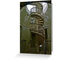 Spiral Staircase, Western State Hospital Greeting Card