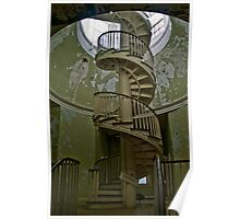 Spiral Staircase, Western State Hospital Poster