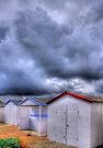 Beach Huts - Shoreham Beach - West Sussex - HDR by Colin J Williams Photography