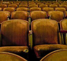 Miller Theater, Empty Seats by Jonathan Covington