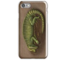 Sleeping Echinerpeton intermedium iPhone Case/Skin