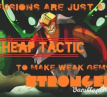 """""""Fusions are just a cheap tactic to make weak gems stronger."""" by Gwashington666"""