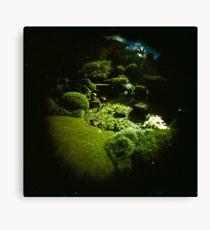 Fish Eye Botantic Gardens Canvas Print