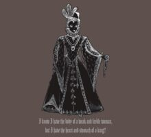 Elisabeth I Tudor t-shirt design Ladies Only! T-Shirt