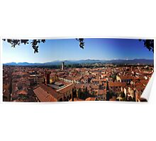 Benvenuto a Lucca Poster