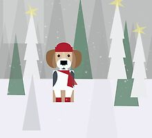 BEAGLE LOVE FOR CHRISTMAS! by BEANSANDSTALKS
