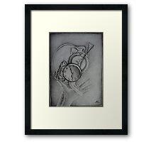 Dynamism of pain Framed Print