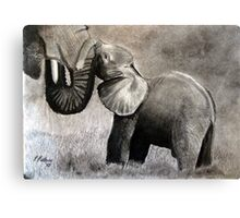 Mother love ... Canvas Print