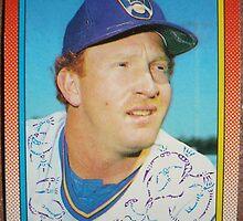 482 - Bryan Clutterbuck by Foob's Baseball Cards