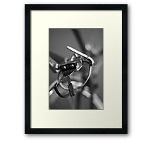 Stitched ... Framed Print
