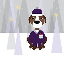 ALL DRESSED UP FOR SNOW!  by BEANSANDSTALKS