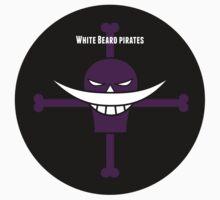 White Beard Pirates Logo Sticker by zeroheroes