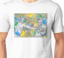 Green Painted Fight Unisex T-Shirt