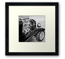 Supercharger Heaven Framed Print
