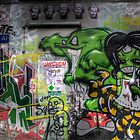 Graffiti Croft Al Melbourne by Scott Sheehan