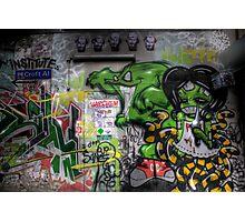 Graffiti Croft Al Melbourne Photographic Print