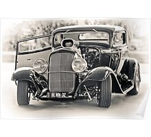 Blown '32 Hotrod Poster