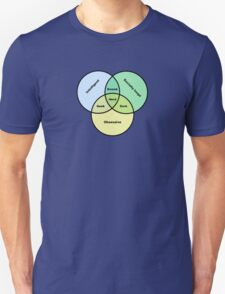 Nerd Venn Diagram Unisex T-Shirt