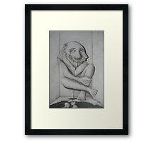 Miserable Framed Print