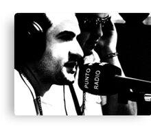 Radio Heads Canvas Print