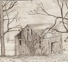 Old Barn by snowhawk