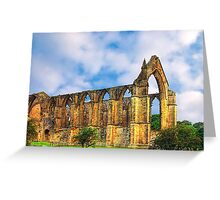 Bolton Abbey North Yorkshire Greeting Card