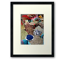 Spice Market. Framed Print