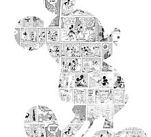 Mickey Mouse Comic edit by Katie Lou