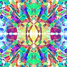 Abstract Psychedelic Gem  by Kari Sutyla