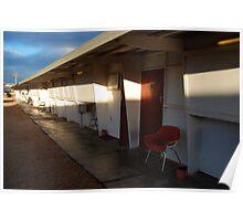 Retro Motel, Nullarbor Plain Poster