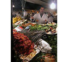 Saucy Kebabs. Photographic Print