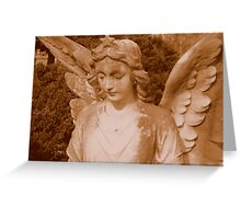 Angel in Sepia  ^ Greeting Card