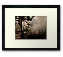 Marrakesh Sausage. Framed Print