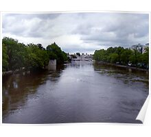 River Ouse in Flood -York Poster